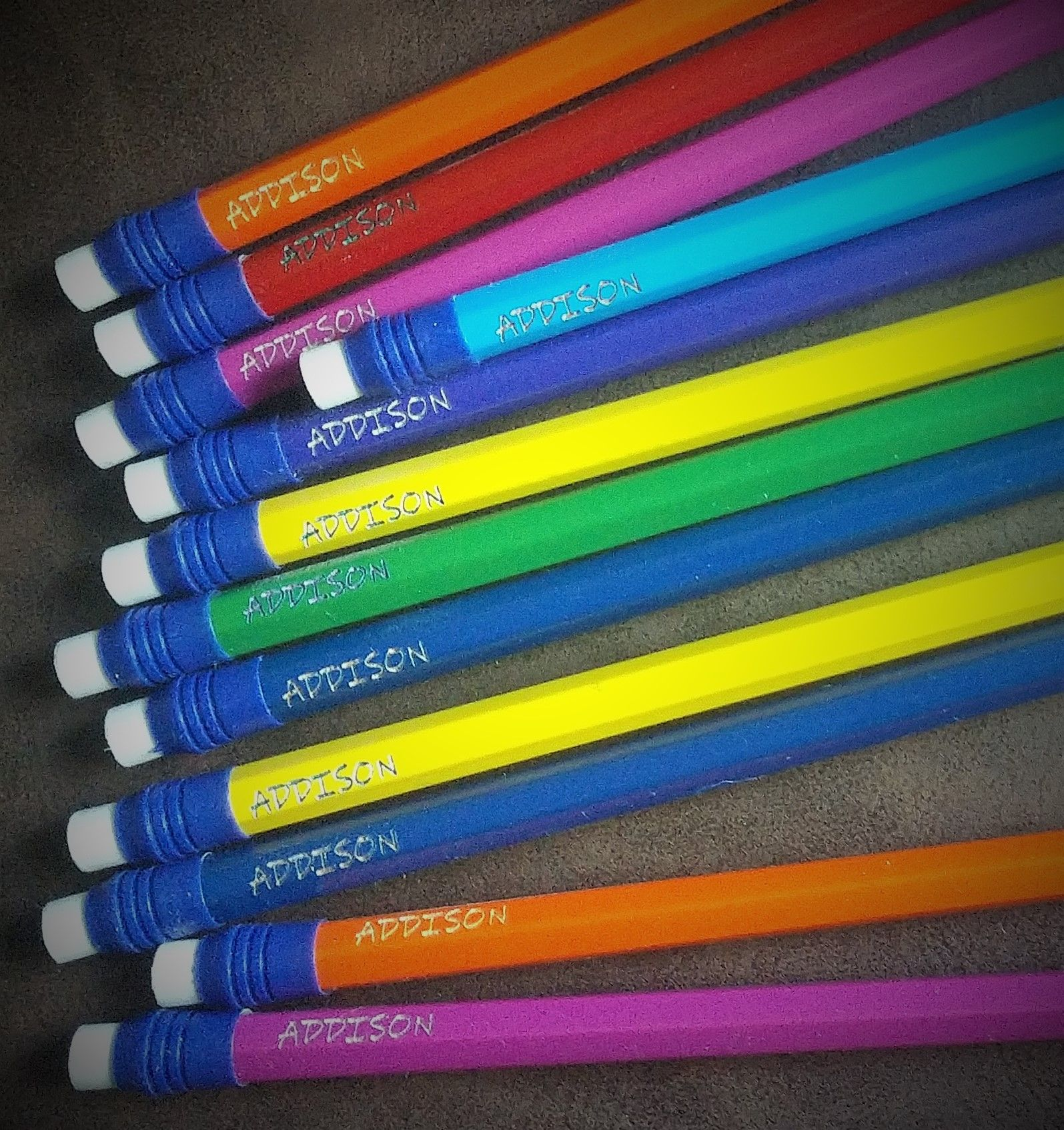 Personalized Pandemic Pencils